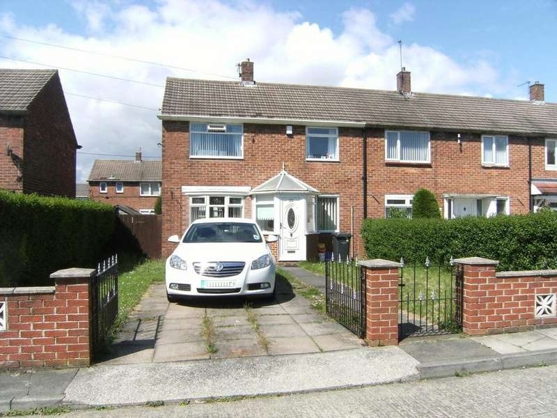 2 Bedrooms Terraced House for sale in Renoir Gardens, South Shields