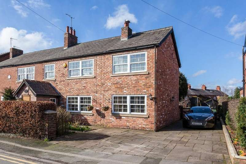 4 Bedrooms Semi Detached House for sale in Clumber Road, Poynton