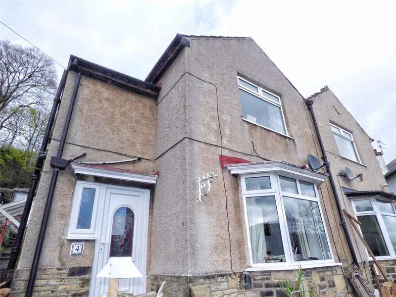 3 Bedrooms Semi Detached House for sale in Parkfield Drive, Triangle, Sowerby Bridge, West Yorkshire, HX6