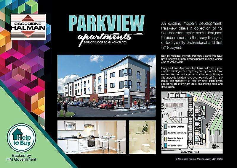 2 Bedrooms Apartment Flat for sale in Barlow Moor Road, Chorlton