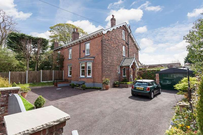 5 Bedrooms Semi Detached House for sale in Albert Road, Wilmslow