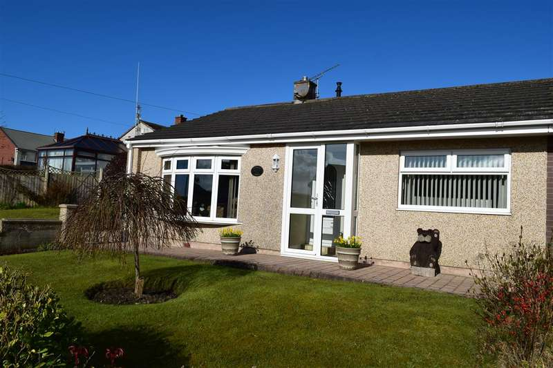 2 Bedrooms Semi Detached Bungalow for sale in Derwent Bank, Seaton, Workington