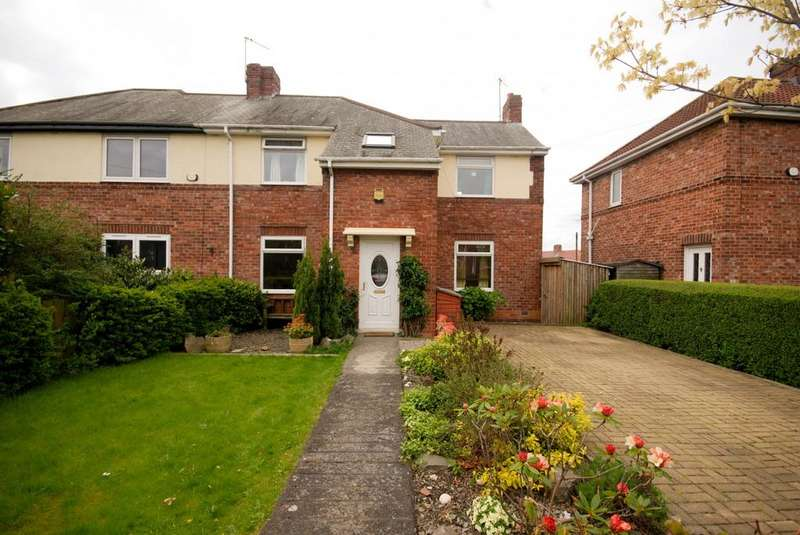 2 Bedrooms Semi Detached House for sale in Lansbury Drive, Birtley