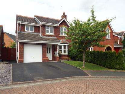 3 Bedrooms Detached House for sale in Lockwood View, Runcorn, Cheshire, WA7