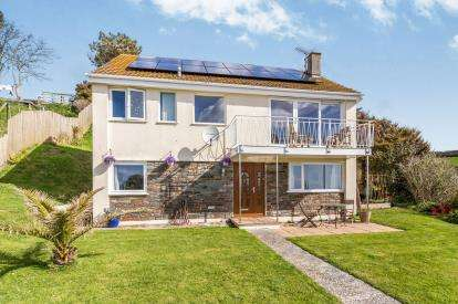3 Bedrooms Detached House for sale in Portwrinkle, Torpoint, Cornwall