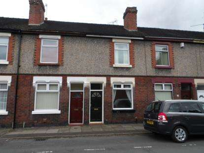 2 Bedrooms Terraced House for sale in Yeaman Street, Stoke-on-Trent, Staffordshire