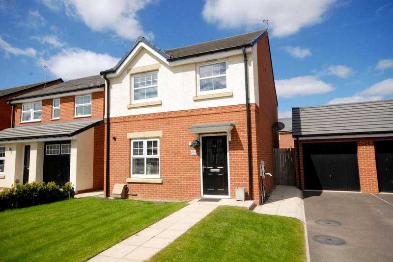 4 Bedrooms Detached House for sale in Monkton Lane, Hebburn