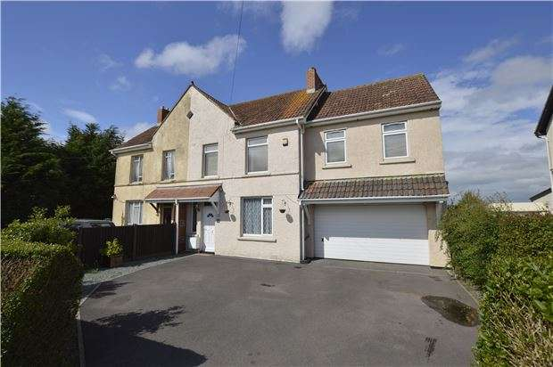 4 Bedrooms Semi Detached House for sale in Woodside Road, Coalpit Heath, Bristol, South Gloucestershire, BS36 2QR