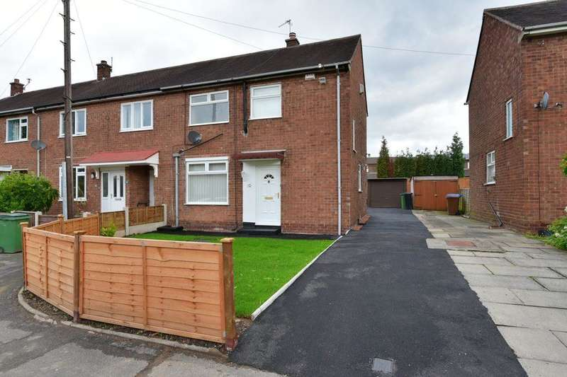 2 Bedrooms End Of Terrace House for sale in Yeardsley Close, Bramhall, Stockport, SK7 3HR