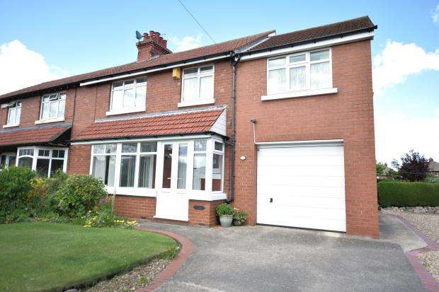 4 Bedrooms Semi Detached House for sale in Scalby Road, Scarborough, North Yorkshrie YO12 6TG