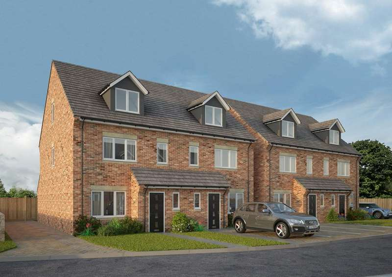 4 Bedrooms Semi Detached House for sale in Tantallon Court, Weetslade Road, Dudley, NE23