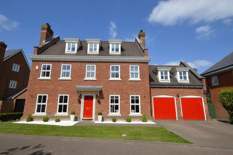 5 Bedrooms Detached House for sale in Broughton Close, Grappenhall Heys, Warrington