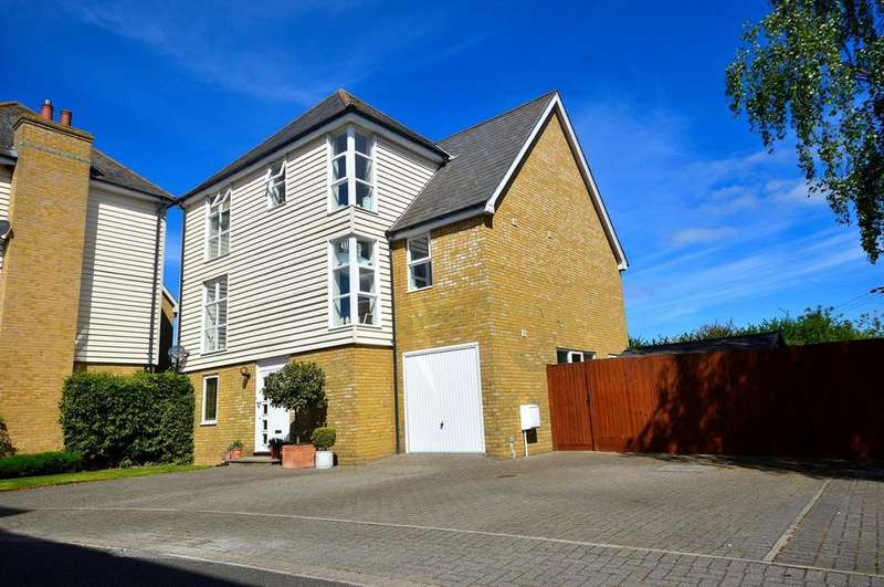 4 Bedrooms Detached House for sale in Saltcote Maltings, Heybridge, Maldon, Essex, CM9