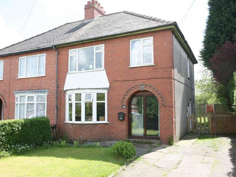 3 Bedrooms Semi Detached House for sale in 566 Littleworth Road, Rawnsley, Cannock, WS12 1JE