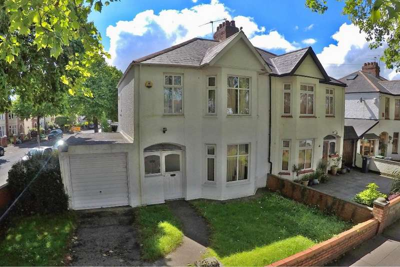 3 Bedrooms Semi Detached House for sale in Heathwood Road, Heath, Cardiff