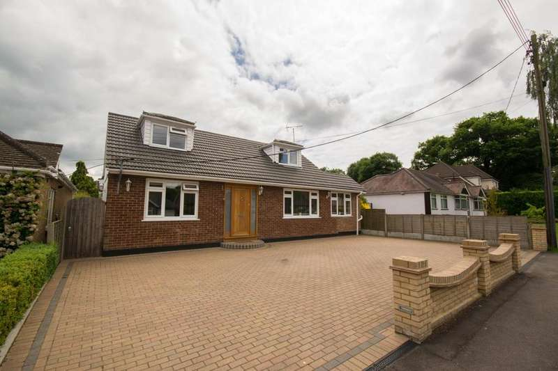 4 Bedrooms Chalet House for sale in Kingsley Road, Brentwood, Essex CM13 2SH