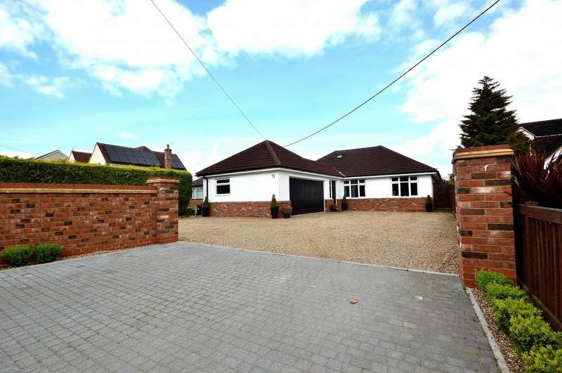 4 Bedrooms Detached Bungalow for sale in Maldon Road, Great Totham, Maldon, Essex, CM9