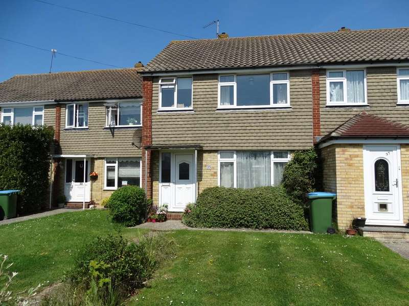 3 Bedrooms Terraced House for sale in Pembroke Way, Bognor Regis