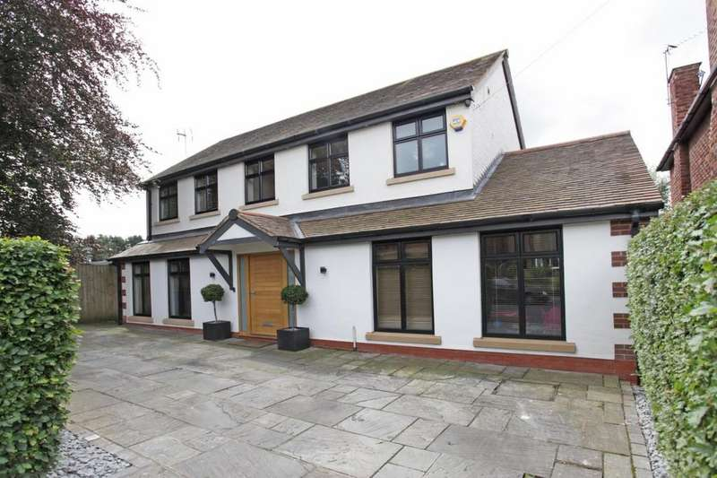 4 Bedrooms Detached House for sale in Wilton Drive, Hale Barns