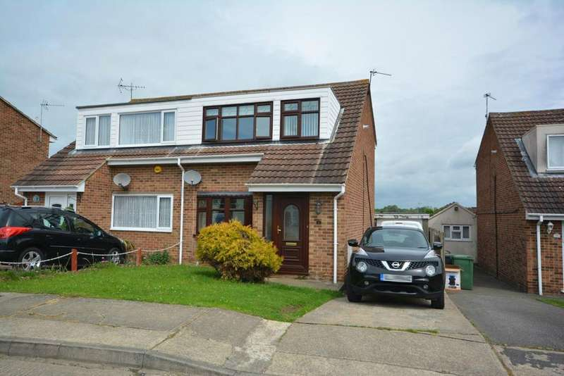3 Bedrooms Semi Detached House for sale in Vernon Way, Braintree, Essex, CM7