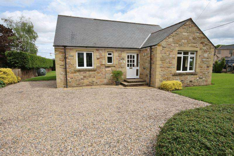 3 Bedrooms Detached Bungalow for sale in Ditchburn Road, South Charlton, Alnwick
