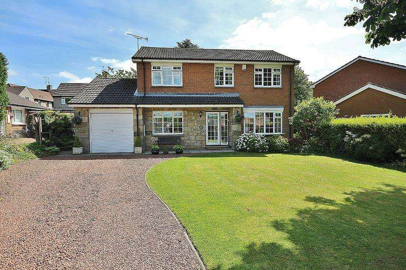 4 Bedrooms Detached House for sale in Hillcrest Park, Alnwick