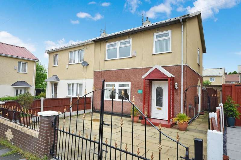 3 Bedrooms Semi Detached House for sale in Rogate Drive, Wythenshawe