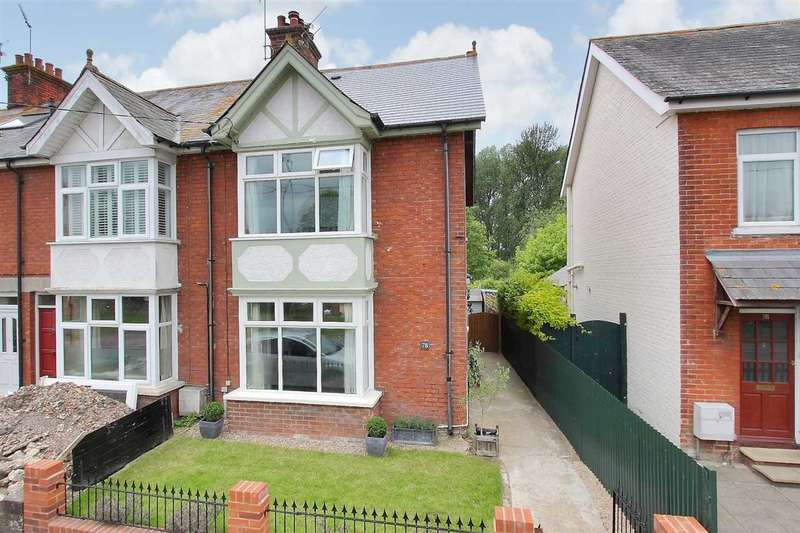 3 Bedrooms End Of Terrace House for sale in Winchester Road, Whitchurch