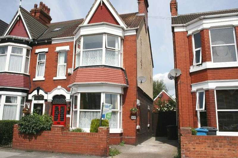 4 Bedrooms Semi Detached House for sale in Holderness Road, Hull