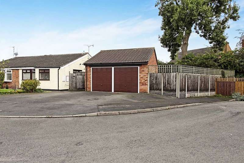 2 Bedrooms Semi Detached Bungalow for sale in Montague Road, Broughton Astley, Leicester, LE9
