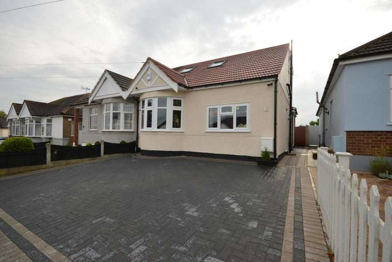 5 Bedrooms Semi Detached Bungalow for sale in Ascot Gardens, Hornchurch, Essex, RM12