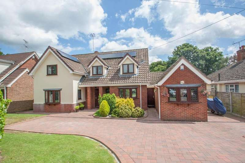 4 Bedrooms Detached House for sale in Wyatts Green Lane, Wyatts Green, Brentwood, Essex, CM15