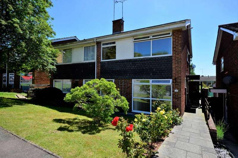 4 Bedrooms Semi Detached House for sale in Copford Close, Billericay