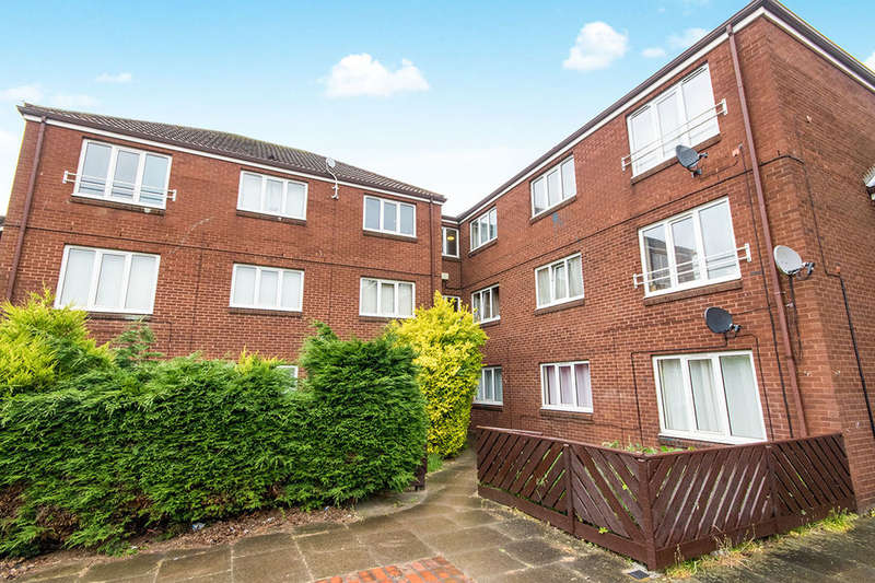 2 Bedrooms Flat for sale in Bawtry Close, Lincoln, LN6