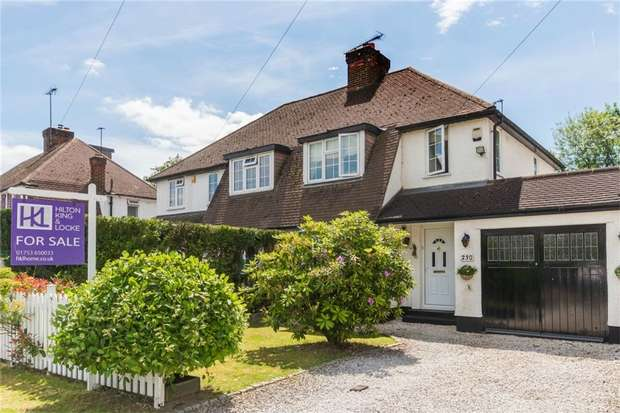 3 Bedrooms Semi Detached House for sale in The Parkway, Iver Heath, Buckinghamshire