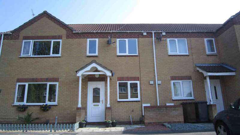 2 Bedrooms Terraced House for sale in Sixfield Close, Lincoln, LN6 0EJ