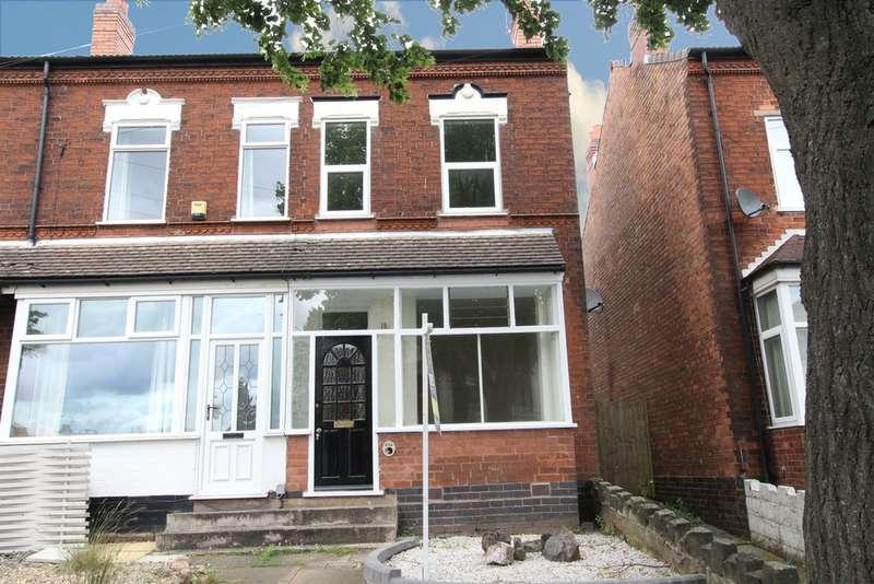 2 Bedrooms End Of Terrace House for sale in Somerset Road, Erdington, B23 6NJ
