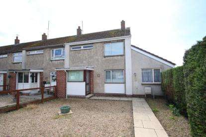 2 Bedrooms End Of Terrace House for sale in Woodlea Court, Crosshouse, East Ayrshire