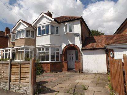 3 Bedrooms Semi Detached House for sale in Hatchford Brook Road, Solihull, West Midlands