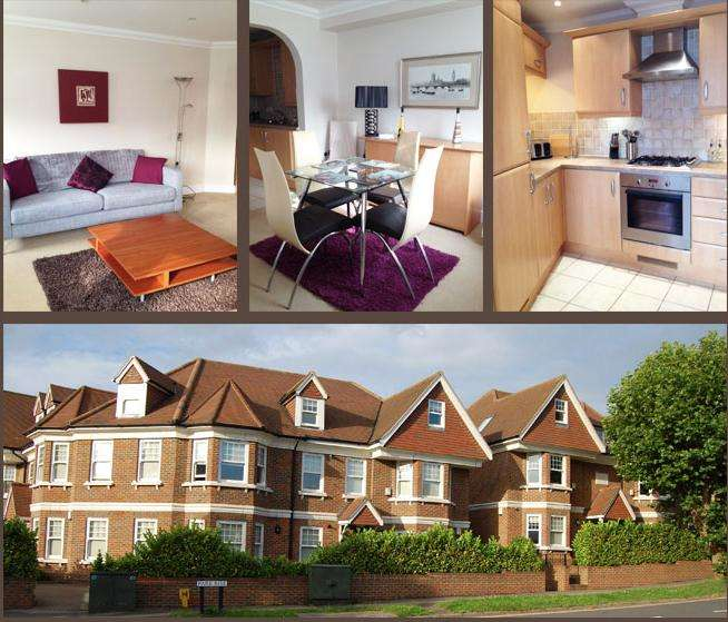 2 Bedrooms Serviced Apartments Flat for rent in *SHORT TERM SERVICED ACCOMODATION*, Park Rise, Leatherhead, Surrey, KT22 7HE