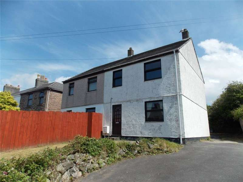 2 Bedrooms Semi Detached House for sale in Doklyn Court, East End, Redruth