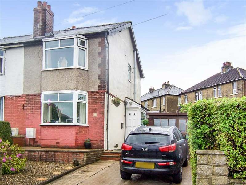 3 Bedrooms Semi Detached House for sale in Thornleigh Road, Crosland Moor, Huddersfield