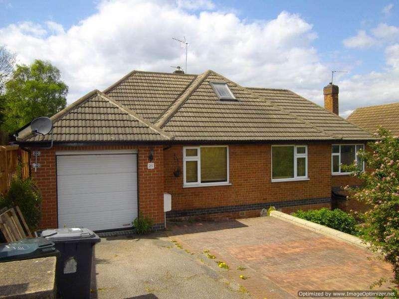 3 Bedrooms Detached Bungalow for sale in Freda Avenue, Gedling, Nottingham, Nottinghamshire