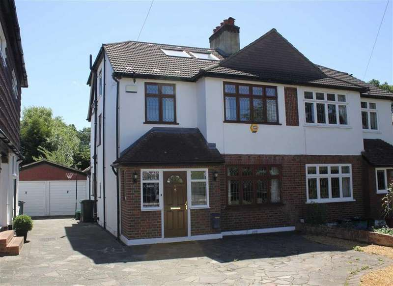 5 Bedrooms Semi Detached House for sale in St Francis Close, Petts Wood East