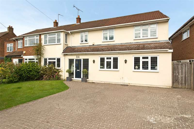 6 Bedrooms Semi Detached House for sale in Grove Way, Esher, Surrey, KT10