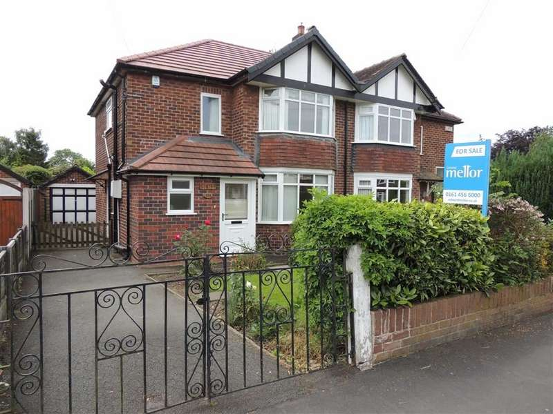 3 Bedrooms Semi Detached House for sale in Cavendish Road, Hazel Grove, Stockport