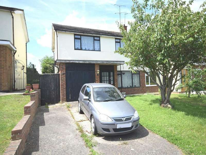 3 Bedrooms Semi Detached House for sale in Chelmer Drive, Dunmow, Essex, CM6