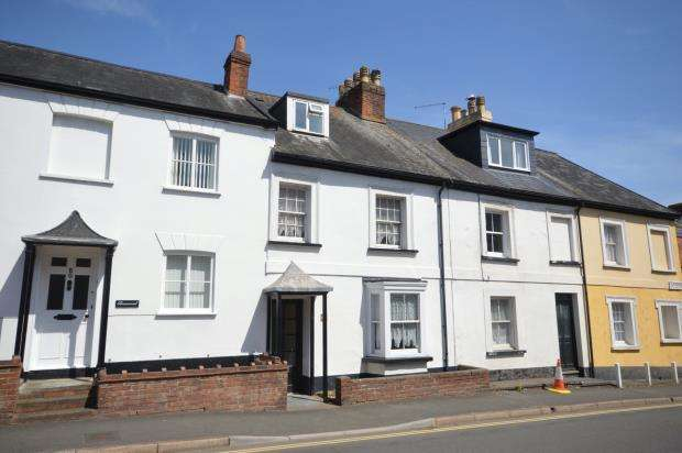 4 Bedrooms Terraced House for sale in Temple Street, Sidmouth, Devon