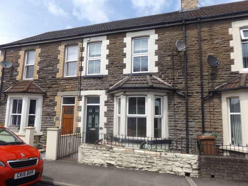 2 Bedrooms Terraced House for sale in Van Road, Caerphilly