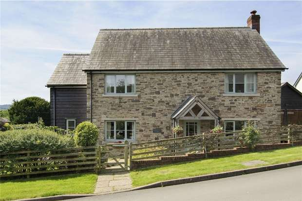 3 Bedrooms Detached House for sale in Knobley Brook Cottage, 1 Horseyard Lane, Evenjobb, Presteigne